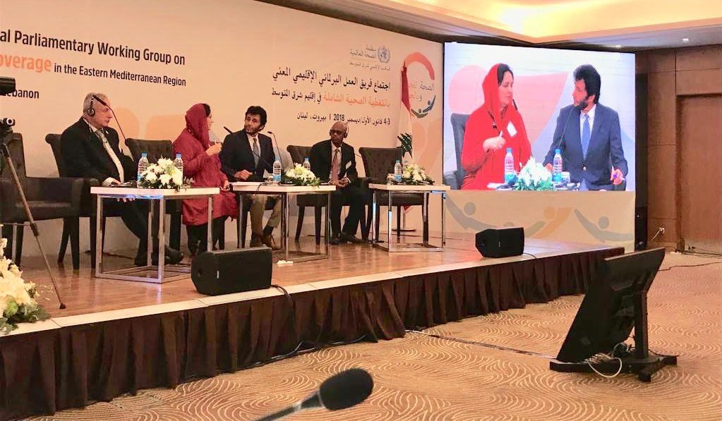 Presenting Pakistan's perspective on delivery of health services to people