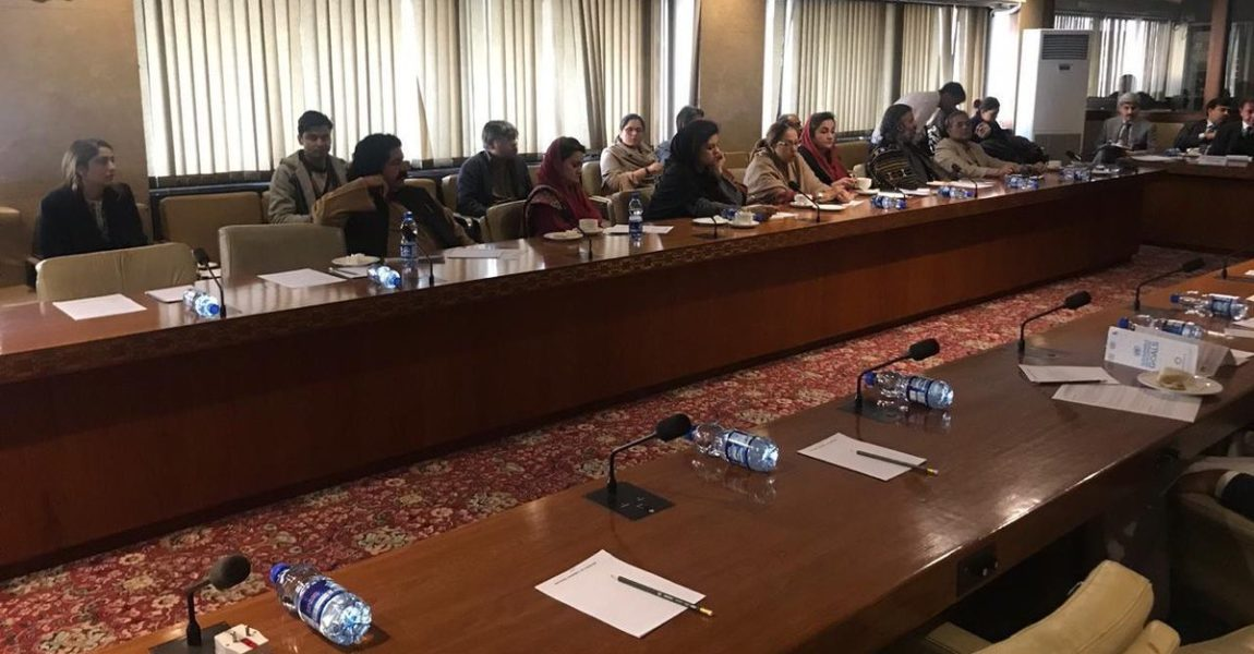 First meeting of Parliamentary Task force on SDGs