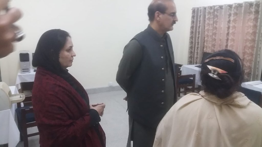 Visited Dispensary G-7/2 Islamabad