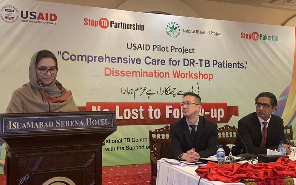 Drug Resistant TB is a challenge faced by Pakistan