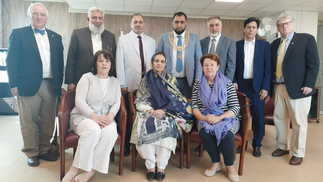 Visited by delegation of Members of Parliament from UK