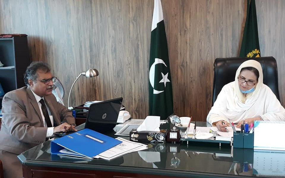 Meeting with Chairperson Human Organ Transplant Authority