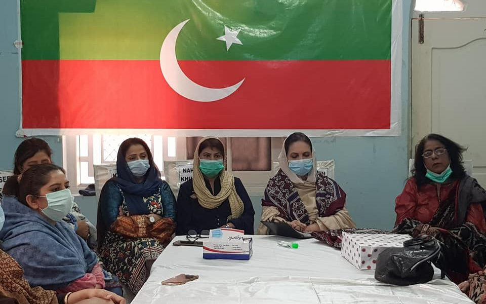 Meeting with Regional Team of Sukkur Women Wing
