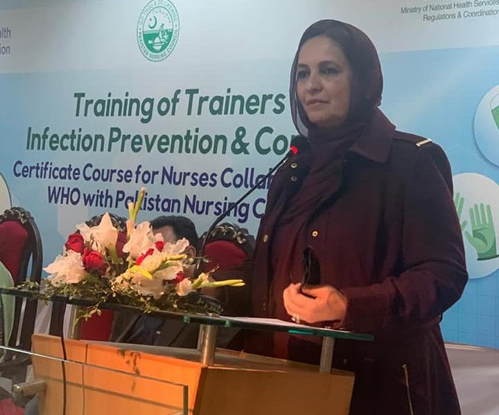 Infection Prevention & Control is an important aspect of healthcare system which needs to be promoted in Pakistan