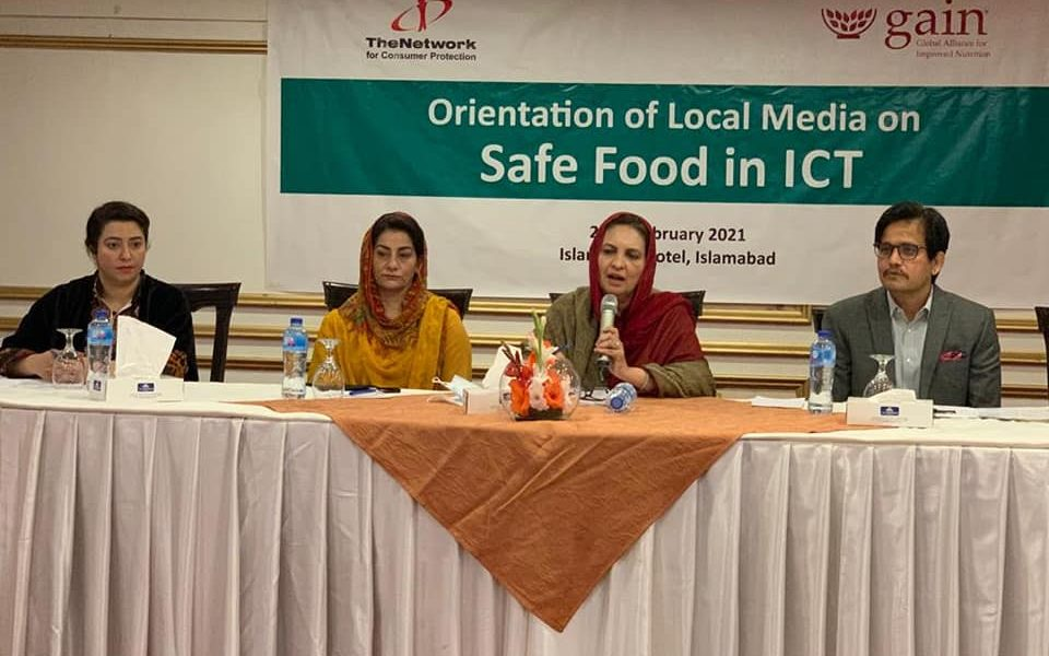 Orientation of Local Media on Safe Food in ICT