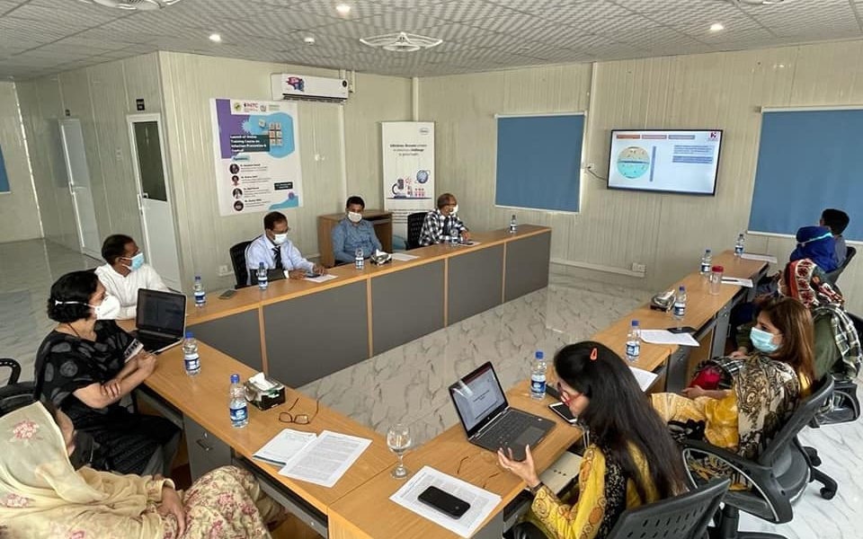 Attended launching ceremony of online training course on Infection Prevention and Control