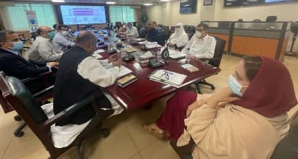 Meeting with the EDs, Head of Gynae Departments , Paedriatic Departments of PIMS and Polyclinic
